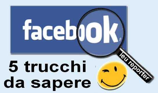 Facebook 5 funzioni da conoscere