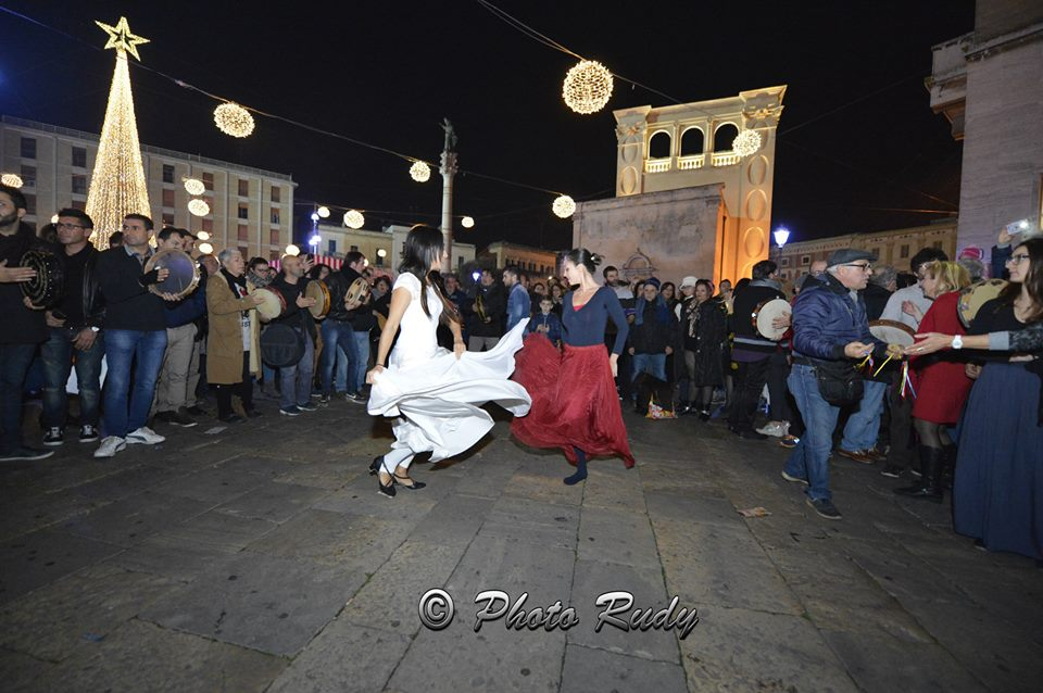 In Piazza Sant'Oronzo ieri. Oggi a Porta san Biagio.