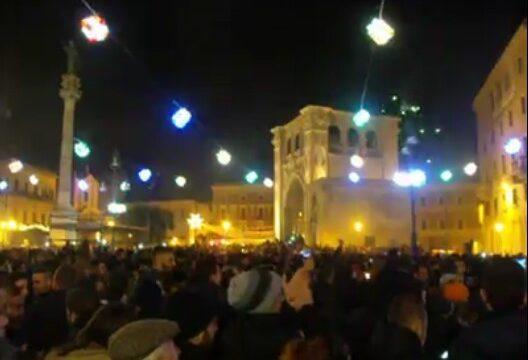 Capodanno 2016 in piazza Sant'Oronzo a Lecce