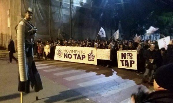 Il Salento non vuole TAP, questa la manifestazione popolare
