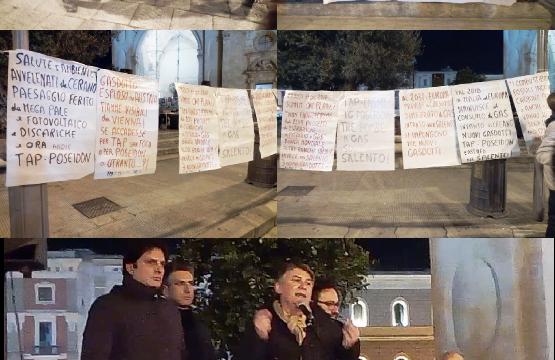 "SIT-IN a Lecce, ""No TAP"" con i bravi Sindaci guidata da Marco Potì"
